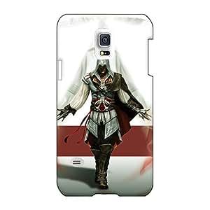 AlainTanielian Samsung Galaxy S5 Mini Scratch Resistant Hard Phone Cover Unique Design High-definition Assassins Creed 2 Image [Dph5527HAJT]