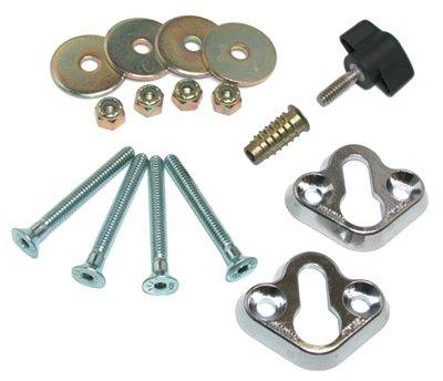 Pingel Mount Kit for Removable Wheel Chocks WCMD010 (Removable Kit)