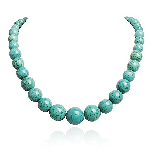 Jane Stone Necklace Statement Turquoise product image