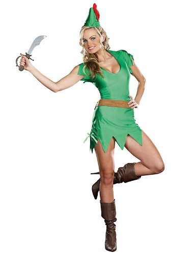 [Sexy Pretty Peter Pan Women's Costume - Costume Ideas] (S Costume Ideas For Women)