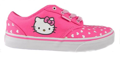 New Vans Atwood Girl's Pink Hello Kitty Shoes size (Childrens Hello Kitty Vans)