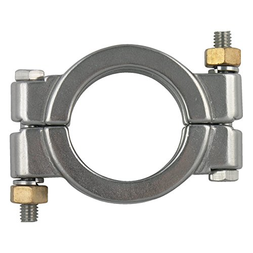 "Dixon High Pressure Bolted Sanitary Clamp, 304 Stainless Steel - 1"" & 1-1/2"""