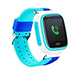Pongaps Touch Screen Children Location Tracking Electronic Smart Watch Smartwatches