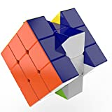 Professional 3x3 Speed Cube Puzzle - Stickerless, Durable & Smooth Corner Cutting - For Kids & Adults - Better Than Original 3x3x3 Cube!
