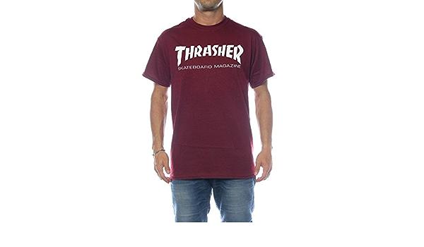 Thrasher Skate-Mag Maroon - Camiseta