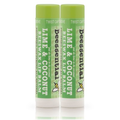 Beessential Natural Coconut Lime Balm