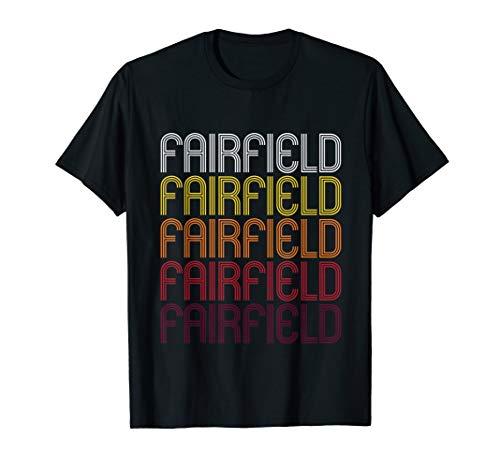 Fairfield, IA   Vintage Style Iowa T-shirt ()