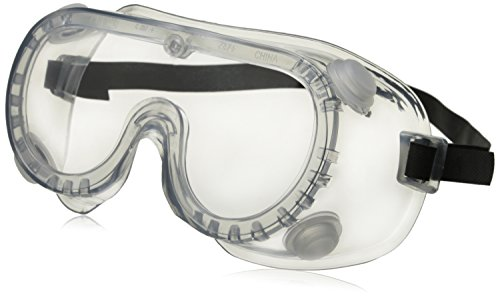 Crews 2230R Chemical Splash Goggle w/ Indirect Ventilation and Adjustable Strap, - Goggles Prices