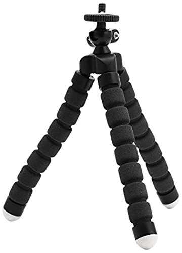 Camera Tripod, Camera Holder and Phone Tripod for iPhone/Universal Smartphone/Cell Phone/Camera