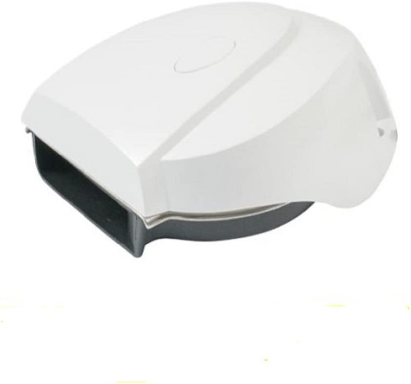 AFI 10099 MiniBlast Marine Compact Deck Electric Horn (White)