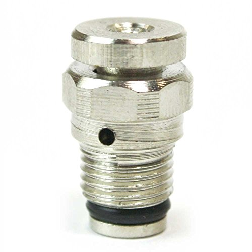 - Interstate Pneumatics V11B Push Button Bleeder Valve 1/16 Inch NPT