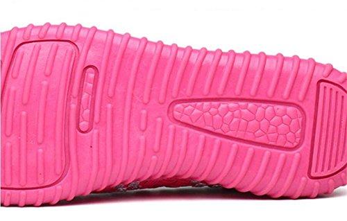 Damas de la rose Cuadrados Danza red Elásticos Respiración la XIE de Zapatos de Mano a de Madre Zapatos Mujeres Tejidos Zapatos Hechos Respirable Zapatos AtRnd
