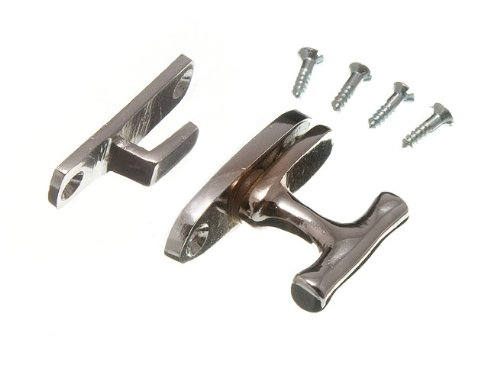 SHOWCASE CABINET CATCH FASTENER CP CHROME WITH SCREWS ( pack of 100 )