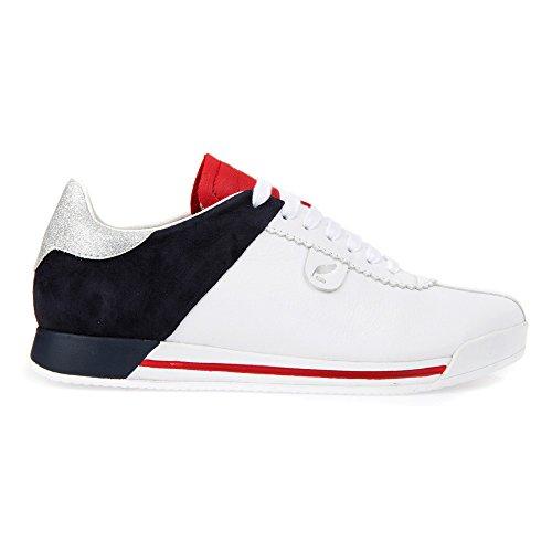 Femmes Sneakers Geox D724ma Blanc 08521 HSq4TxnX