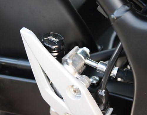 Gsg Bremsflüssigkeitsbehälter Hinten Suzuki Gsr 750 Wvc5 11 Abe Schwarz Eloxiert Auto