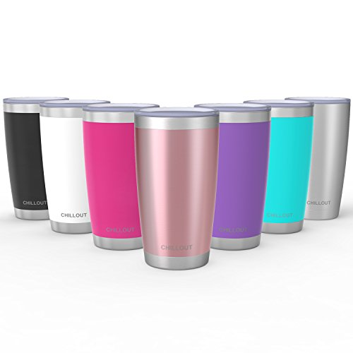 20 Oz Stainless Steel Tumbler With Splash Proof Sliding Lid   Premium  Quality Double Wall Vacuum