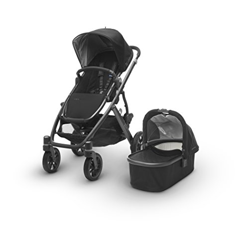2017 UPPAbaby Vista - Austin (Hunter Green/Silver/Saddle Leather)