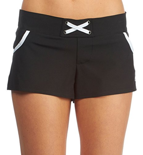 Adidas Womens In The Mix Boardshorts Small Black