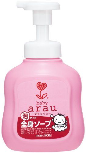 ARAU BABY FULL BODY SOAP 450 ml Foam body soap Saraya