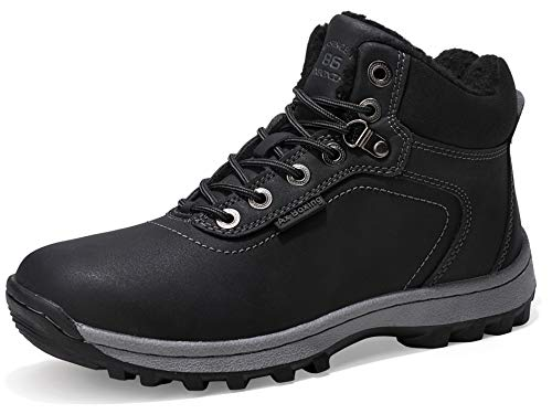 ABTOP Mens Womens Snow Boots Winter Warm Ankle Boots Fully Fur Lined...