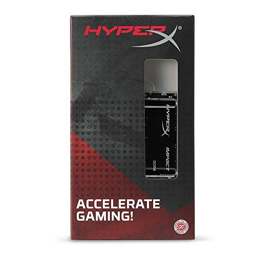 Kingston Technology HyperX Impact 32GB Kit (2x16GB) 2400MHz DDR4 CL14 260-Pin SODIMM Laptop HX424S14IBK2/32 by HyperX (Image #4)