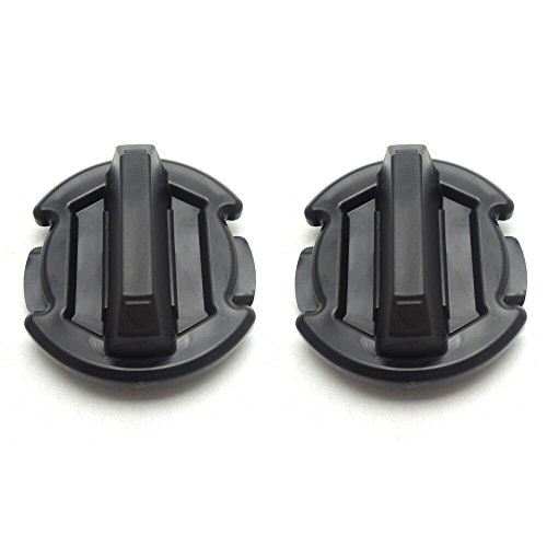 2 Pcs Twist Floor Drain Plug Trap Seal for 2014-2018 Polaris RZR 1000 900 XP Turbo (Updated Version)