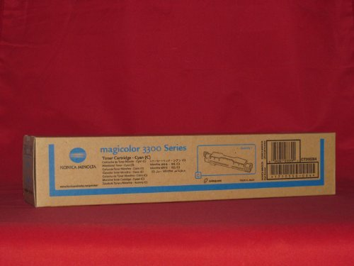 NEW KONICA MINOLTA OEM 1710550004 TONER CARTRIDGE (CYAN) (Toner/Cartridges) by Konica-Minolta