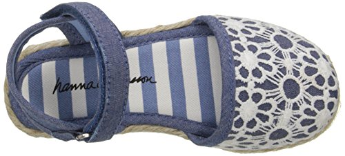 Hanna Andersson Paulina Girl's Espadrille(Toddler/Little Kid/Big Kid), Chambray, 8 M US Toddler by Hanna Andersson (Image #8)