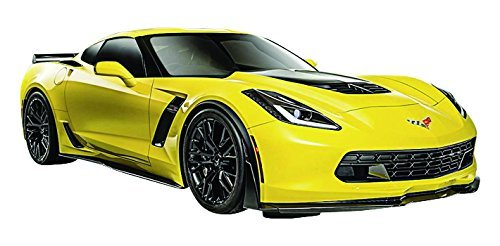(Maisto 31133YL 2015 Chevrolet Corvette C7 Z06 1/24, Yellow)