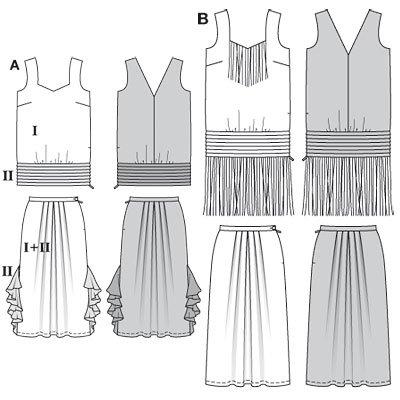 Schnittmuster kleid charleston – Modische Kleider beliebt in Deutschland