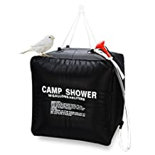 Zoeson 10 Gallon Camping Shower Bag for Hiking & Camping