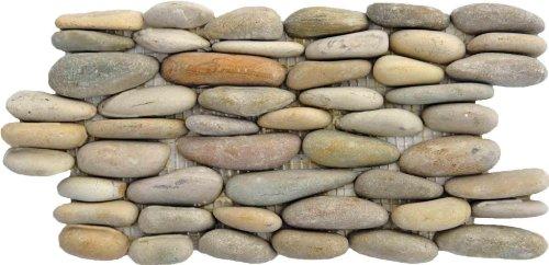 Standing Java Pebble Tile, 6