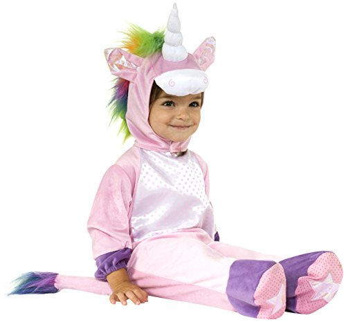 Size 0 Halloween Costumes (Rubie's Costume Co Baby's Unicorn Baby Costume, Multi, 12-18 Months)