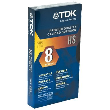 TDK HS T-120 - 9 pack by TDK Electronics Corp