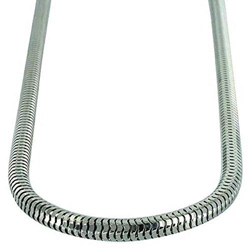 Collier Chaîne Serpent en argent sterling 5mm