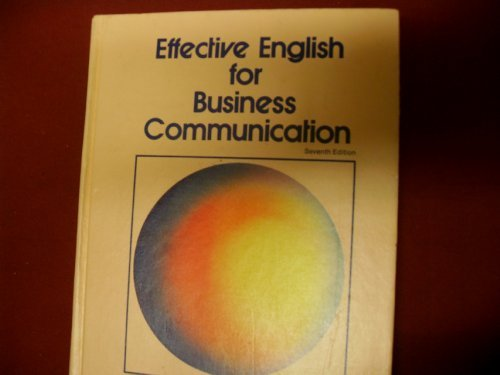 Effective English for Business Communication