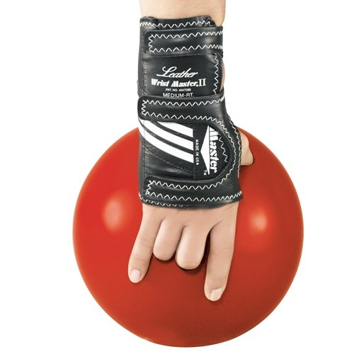 Master Industries Wrist Master II Leather Bowling Gloves, Small, Right Hand by Master Industries