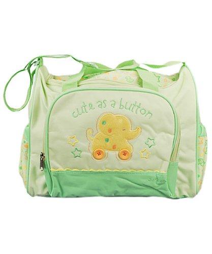 Gerber Large Cute as a Button Diaper Bag - Gerber Diaper Bag Shopping Results