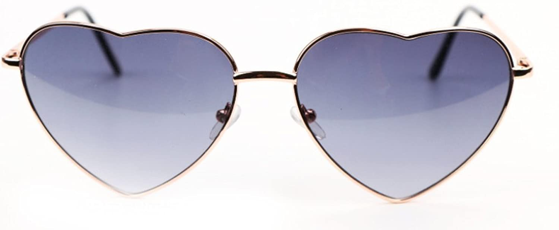 SCLM Fashion Cute Heart Shaped Sunglasses