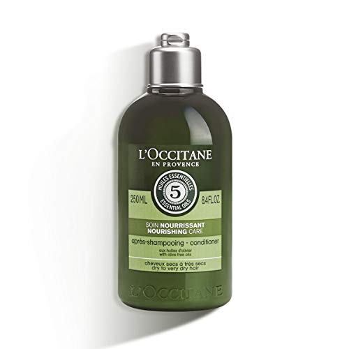 L'Occitane Aromachologie Nourishing Care Conditioner Enriched with Olive Oil for Dry to Very Hair, 8.4 Fl Oz