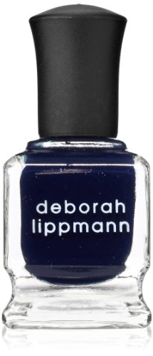 deborah lippmann Crème Nail Lacquer, Rolling In The (Midnight Nail Lacquer)