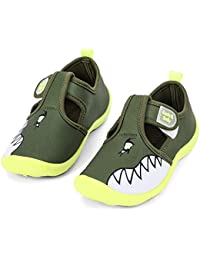 competitive price 0a5fe 3155c Boys Girls Cute Aquatic Water Shoes   Rainbow, Dinasour, Unicorn, Shark    Toddler