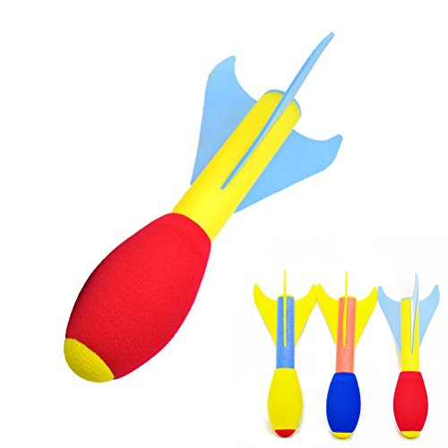 TOYMYTOY Jump Rocket Launcher pour enfants Enfants jouant