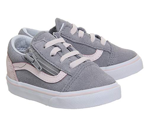 Enfant Baskets Mixte Skool Old T V alloy White Vans Pink Mode Rose Blanc Heavenly pR4qx
