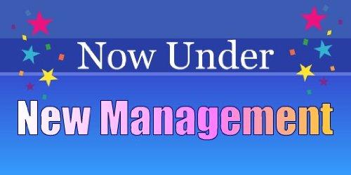 - 3x6 Vinyl Banner - New Management Gradient