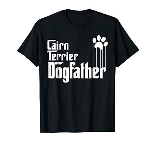 Mens Cairn Terrier Dog Dad T-Shirt