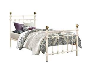 Birlea Atlas - Armazón para cama individual (0,92m), color beige