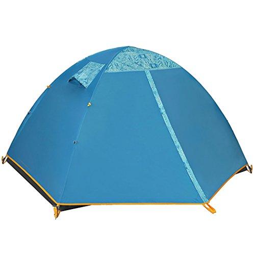 繁雑想定する苦しめるテント、ダブルレイヤーの耐寒キャンプ場屋外の家族のテント