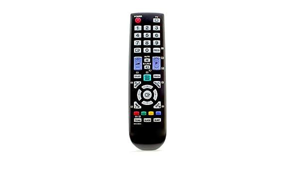 121AV - Mando a Distancia de Repuesto para Samsung LE26B450 LE26B450C LE26B450C4W LE26B450C4WXBT LE26B450C4WXCS LCD LED Televisores: Amazon.es: Electrónica