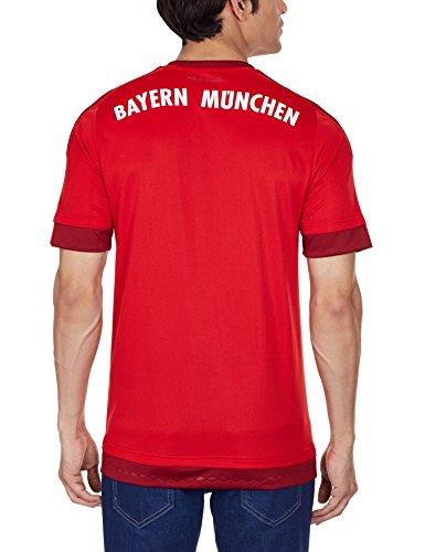 adidas Herren Spieler-Heimtrikot FC Bayern München Replica: Amazon.de:  Sport & Freizeit